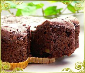 凍らせて召し上がるチョコレートケーキ